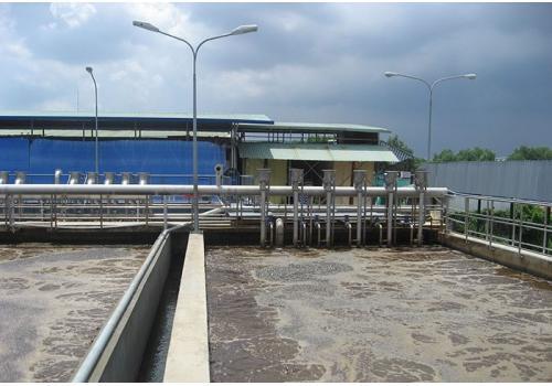Nhà máy xử lý nước thải - KCN LOTECO