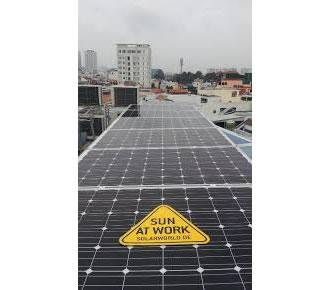 OFFICE SOLAR POWER 4KWp