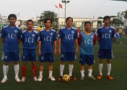 ACE Football : Bán kết cúp TĐH TpHCM 2012