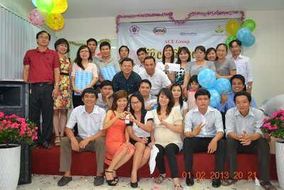 TIỆC TẤT NIÊN CÔNG TY ACE 2012