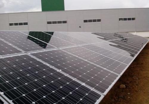 ACE Corp done the PV system 100KWp in Vietnam