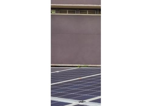 2016-Solar power system 3KW off-grid at Vietnamese German University VGU