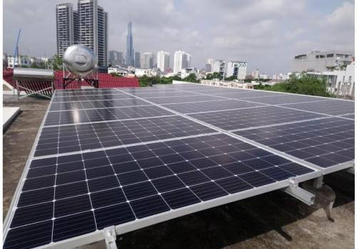 Công trình Điện mặt trời mái nhà biệt thự (2019)