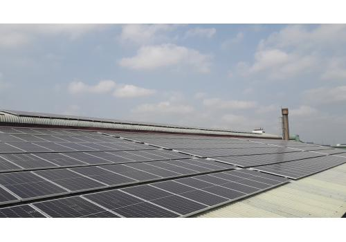Designing-installing Solar Power System for Industrial Rooftop