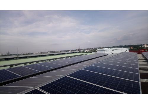 Công trình Điện mặt trời mái nhà 50kWp (2018)