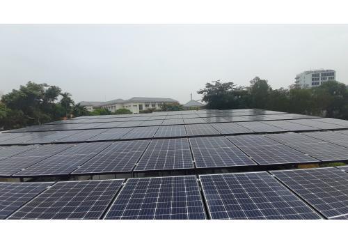 Công trình Điện mặt trời mái nhà 75-100kWp (2017-2019)