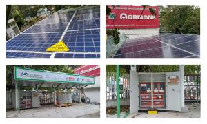 Trạm sạc điện Mặt trời cho acqui xe điện